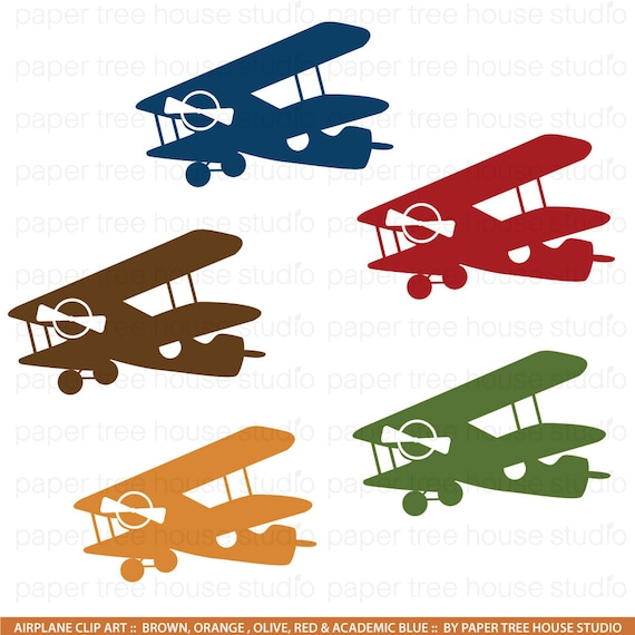 airplane clip art vintage airplane clipart airplane png aviation rh etsystudio com old fashioned airplane clipart Vintage Airplane Drawings