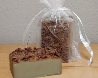 Mint Chocolate Chip Homemade Soap