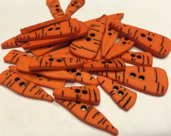 10 count carrot  button mix, 14-35 mm (B9)