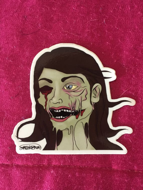 Zombie sticker pack singles