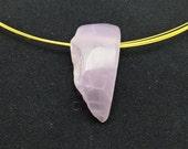 Lavender chalcedony penda...