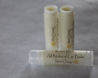 Sweet Orange All Natural Lip Balm