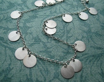 starry night - sterling silver necklace