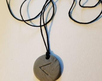 Viking Rune Kenaz Necklace