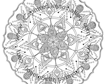 String Cheese Incident - DIY Coloring Poster - Instant Download