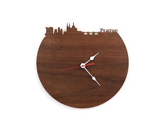 Walnut Clock - Prague - Prague, Czech Republic Clock