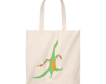 Dragon Tote Bag  Vintage