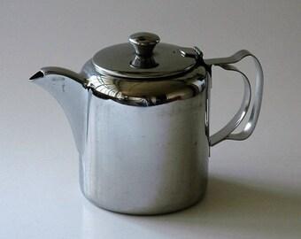 Paramount stainless steel cafe teapot - KG Luke