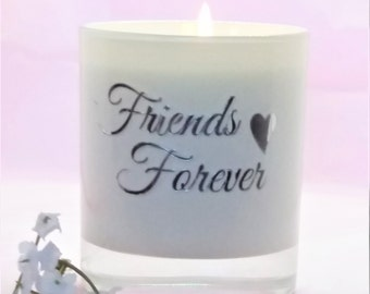 Personalised friendship candle gift,Sister candle gift,sentimental gift,friend gift,scented candle, soy candles,handmade candle