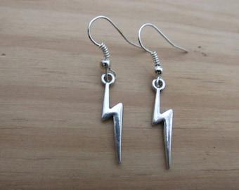 Lightnig Bolt Earrings
