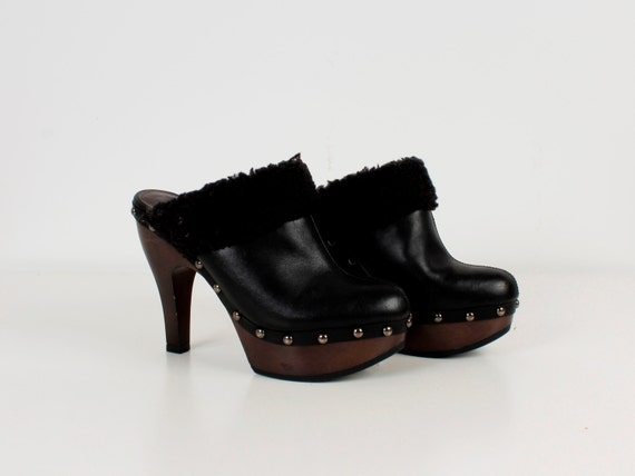 Enfants Vintages Chaussures Noires gmWp3YB