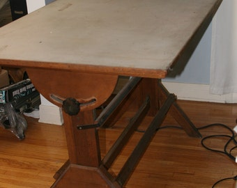 Drafting Table Antique