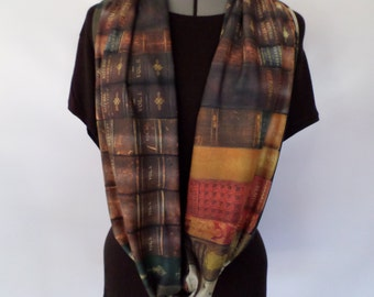 Book Lover Infinity Scarf