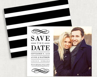 Photo Save the Dates, Printable Save the Dates, Printed Save the Dates, Magnet Save the Dates, Elegant Save the Dates, DIY Save the Dates