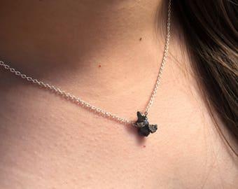Meteorite Necklace  - Crystal Necklace - Alexis Katriana