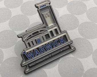 10 pieces Warwick WHQ Lapel Pin.