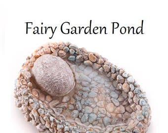 Fairy Garden Pond, Miniatures