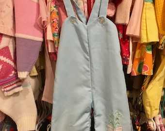 70s Baby Overalls 9/12 Months
