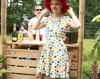 Dress summer colorful Jaqueen Berlin