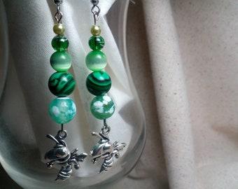 Mansfield hornets earrings 18
