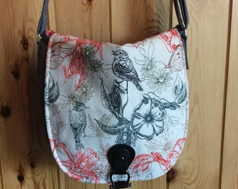 Handmade Fabric Shoulder Bag