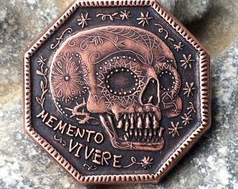 Memento Mori /Memento Vivere Coin