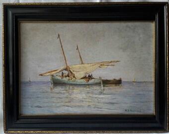 19th sailing boat