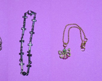 Fashion - jewelry - necklaces for MSD - 1 / 4 and SD - 1/3 BJD dolls