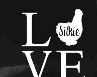 Chicken/silkie LOVE