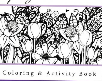 Spring into Summer Coloring & Activity Book (PDF)