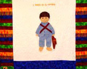 International Adoption Quilt Patterns - Guatemala Boy