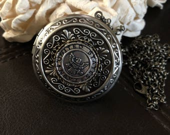 Navy locket necklace, navy gift, navy wife gift, navy girlfriend locket, navy mom necklace, navigation necklace, keychain locket