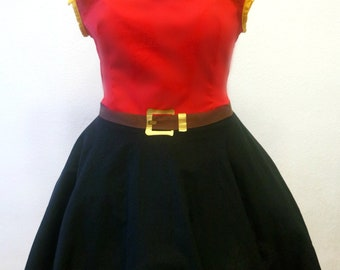 Madame Gaston disneybound dress / Gaston cosplay costume  / Beauty and the beast dress