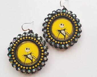 Jack Beaded Earrings