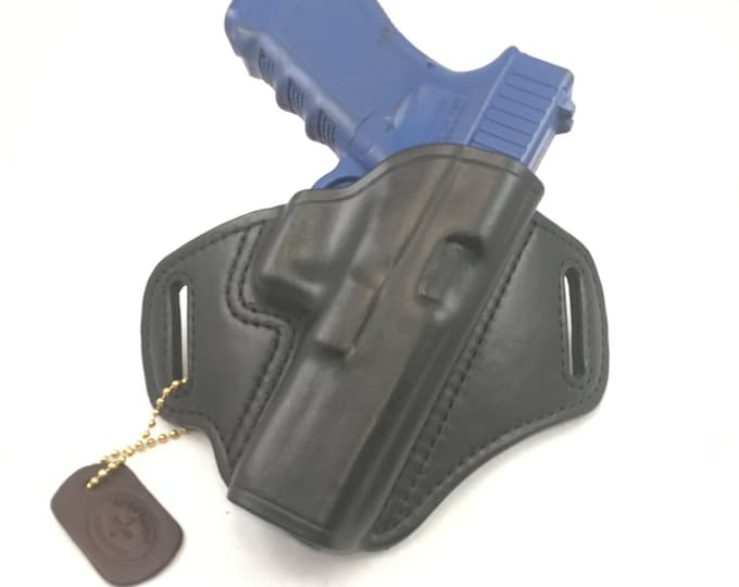 Glock 17 / 22 / 31 / 37 - Handcrafted Leather Pistol Holster