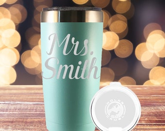 Personalized Tumbler, Insulated Tumbler, Engraved Cup, Custom Tumbler Cup, Monogram Tumbler, Rambler, Personalized, Name