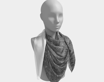 Homestead and Tree Western Scarf