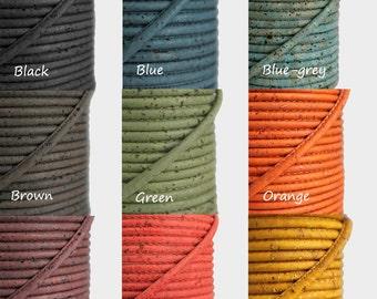 Cork String 4mm - Colors