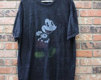 Vintage Mickey Mouse Disney World Men's 2XL