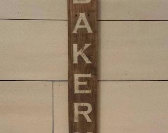 BAKERY, Sign, Rustic, Kitchen Decor, Wall Decor, Rustic Sign, Farmhouse, Rustic Decor, Bakery Sign, Farmhouse Decor, Wood Sign, Home Decor