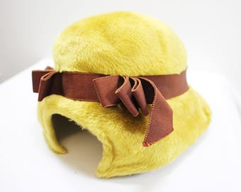 Christian Dior Yellow Hat