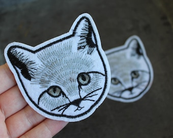Cat Head Patch