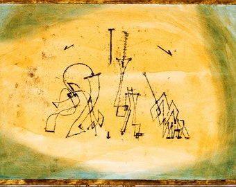 Paul Klee: Abstract Trio. Fine Art Print/Poster (5014)
