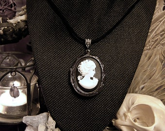 HEKATE CAMEO LOCKET Necklace | Solid Perfume Locket | Choose Your Own Perfume Or Cologne | Natural Perfumery
