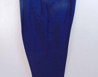 1940-50's Blue Drop loop light weight Vintage Slacks W34