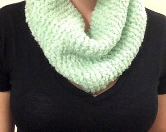 Tiny Infinity Cowl Knit Scarf