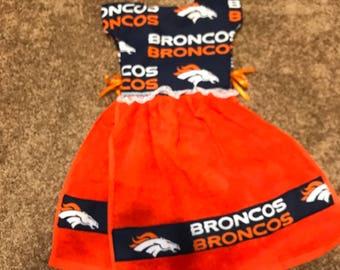Tea Towel Denver Broncos
