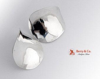 SaLe! sALe! Modern Earrings Sterling Silver