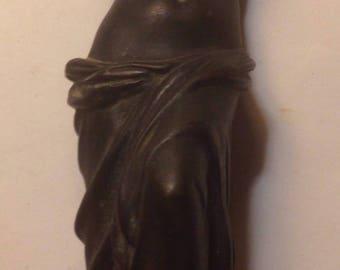 Circa 1900s Grand Tour Souvenir Bronze Woman Statue Austria