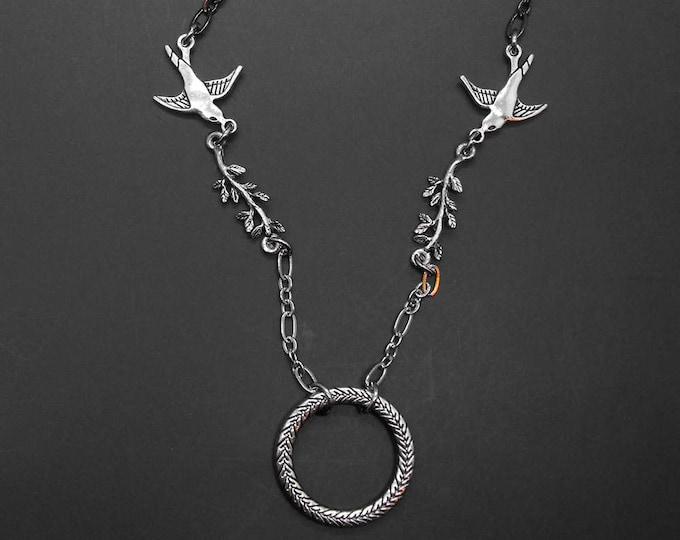 Bird Eyeglass Chain Badge Holder Reading Glasses Lariat Eye Glass Lanyard